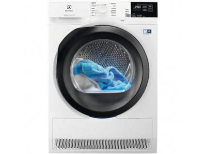 Sušička prádla Electrolux PerfectCare 800 EW8H458BC bílá  nepoužito-rozbaleno-levá strana malá deformace plechu