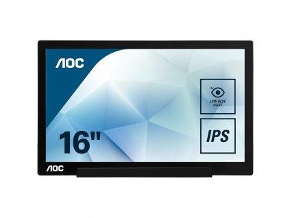 Monitor AOC I1601FWUX  Vráceno ve 14ti denní lhůtě
