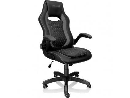 Herní židle Connect IT Matrix Pro černá (CGC-0600-BK)  Vráceno ve 14ti - oděrky