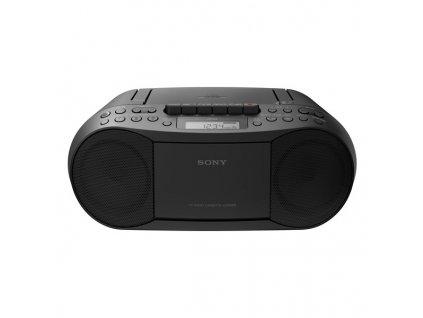 Radiopřijímač s CD Sony CFD-S70B černý  Vráceno ve 14ti denní lhůtě - Kosmetická oděrka