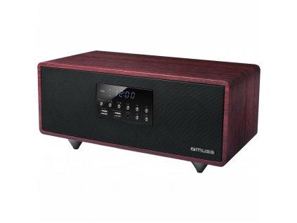 Radiopřijímač MUSE M-630DWT hnědý  Vráceno ve 14ti denní lhůtě