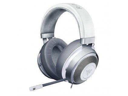 Headset Razer Kraken, Mercury bílý  Vráceno ve 14ti denní lhůtě