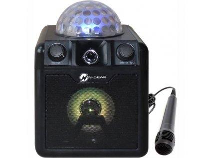 Party reproduktor N-Gear Disco Block 410 černý  Vráceno-kosmetické oděrky