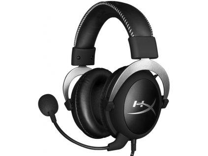Headset HyperX Cloud stříbrný  Vráceno-kosmetické oděrky