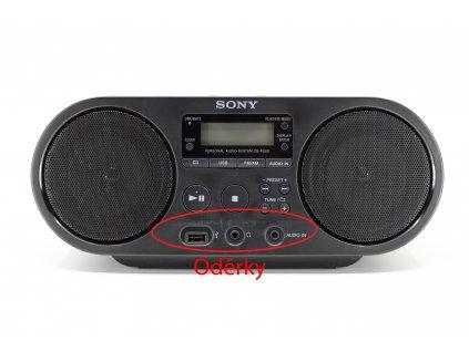 Radiopřijímač s CD Sony ZS-PS50B černý  Vráceno ve 14ti denní lhůtě