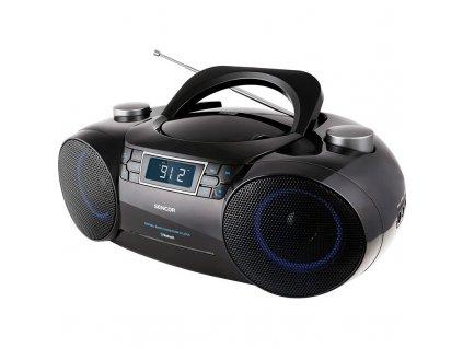 Radiopřijímač s CD Sencor SPT 4700 černý  Vráceno ve 14ti denní lhůtě