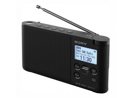 Radiopřijímač s DAB+ Sony XDR-S41DB černý  Vráceno ve 14ti denní lhůtě - kosmetické oděrky