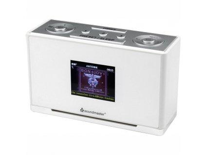 Radiobudík Soundmaster UR240WE bílý  Vráceno ve 14ti denní lhůtě - kosmetické oděrky na displeji