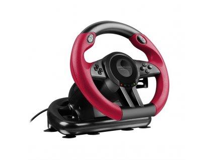 Volant Speed Link TRAILBLAZER Racing Wheel pro PC, PS4/Xbox One/PS3 černý  Vráceno ve 14ti denní lhůtě - kosmetické oděrky