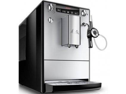 Espresso Melitta Solo Perfect Milk Stříbrné stříbrné  Nepoužito - Vystaveno - Poškozená krabice - Kosm.oděrky