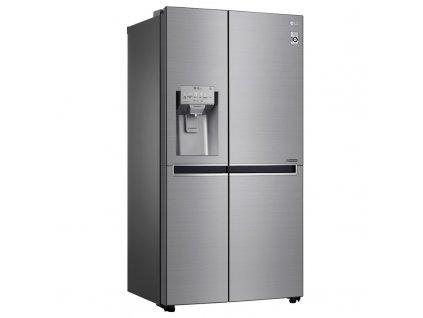 Americká lednice LG GSL960PZVZ Platinum Silver  nepoužito - kosmetické oděrky - na dvířkách fólie