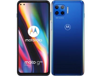 Mobilní telefon Motorola Moto G 5G Plus modrý  Vráceno ve 14ti denní lhůtě