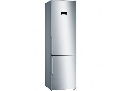 Chladnička s mrazničkou Bosch Serie | 4 KGN39XIDQ nerez  nepoužito-levá strana malé promáčkliny