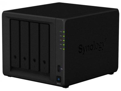Datové uložiště (NAS) Synology DS418 černé  Vráceno ve 14ti denní lhůtě