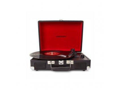 Gramofon Crosley Cruiser Deluxe černý  Vráceno - kosmetické oděrky