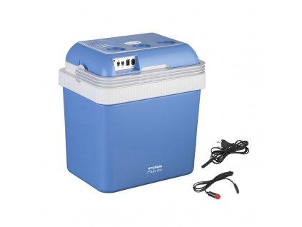 Autochladnička Hyundai MC 24 modrá  Nepoužito - Rozbaleno - Poškozená krabice