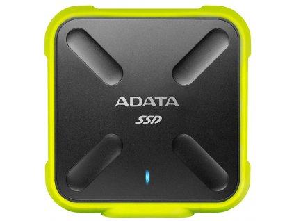 SSD externí ADATA SD700 512GB černý/žlutý  Vráceno ve 14ti denní lhůtě
