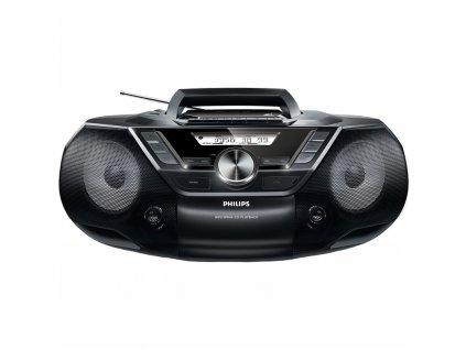Radiomagnetofon s CD Philips AZ787 černý  Vráceno ve 14 ti denní lhůtě - Kosmetické oděrky