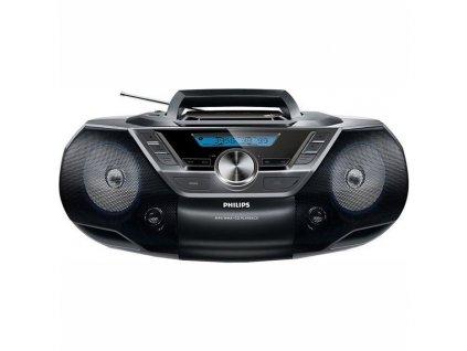 Radiopřijímač s CD Philips AZ780 černý  Vráceno ve 14 ti denní lhůtě - Kosmetické oděrky