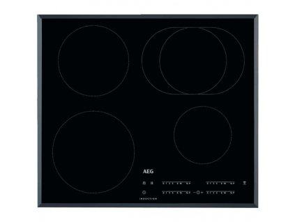 Indukční varná deska AEG Mastery IKB64413FB černá  nepoužito-v rožcích poškozená tlumící pěna