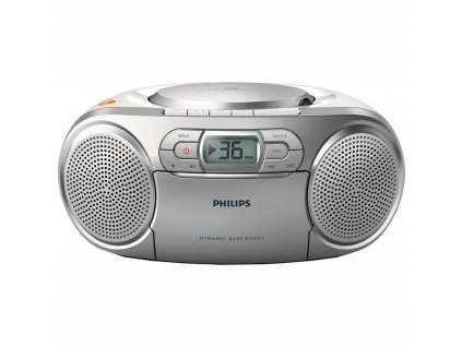 Radiomagnetofon s CD Philips AZ127  Vráceno ve 14 ti denní lhůtě - Kosmetické oděrky
