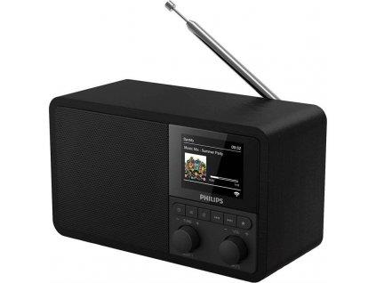 Internetový radiopřijímač Philips TAPR802 černý  Vráceno ve 14 ti denní lhůtě - Kosmetické oděrky na displeji