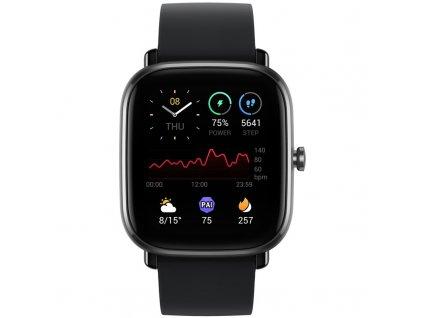Chytré hodinky Amazfit GTS 2 mini černé  Vráceno ve 14 ti denní lhůtě - Kosmetické oděrky