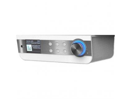 Internetový radiopřijímač Soundmaster IR1450WE stříbrný/bílý  Vráceno ve 14 ti denní lhůtě - Kosmetické oděrky na lesklém povrchu