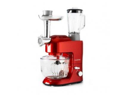 Kuchyňský robot Klarstein Lucia Rossa 2G červený  Poškozený obal-kosmetické oděrky