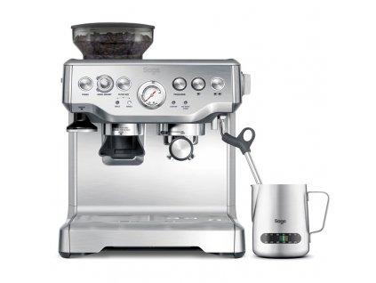 Espresso SAGE BES875BSS stříbrné  Poškozený obal - nepoužito