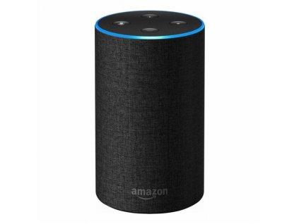 Hlasový asistent Amazon Echo (2. generace), Charcoal černý  Vráceno ve 14 ti denní lhůtě - Chybí adaptér do zásuvky