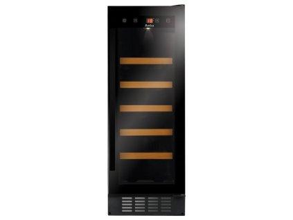 Vinotéka Amica WFBA 2030 DL černá  Vystaveno na prodejně - drobná oděrka - nepoužito