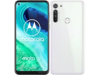 Mobilní telefon Motorola Moto G8 bílý  Vráceno ve 14ti denní lhůtě