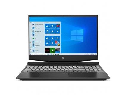 Notebook HP Pavilion Gaming 15-dk1604nc (26F02EA#BCM) černý/bílý  Vráceno ve 14ti denní lhůtě-274h.