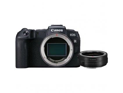 Digitální fotoaparát Canon EOS RP tělo + adapter černý  Vráceno ve 14ti denní lhůtě
