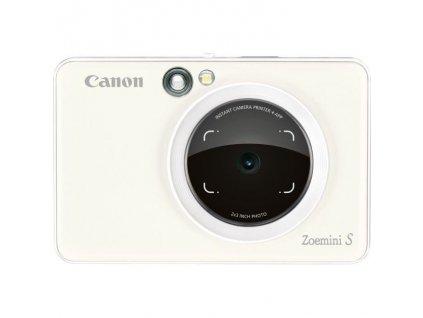Digitální fotoaparát Canon Zoemini S bílý  Vráceno ve 14ti-drobné oděrky