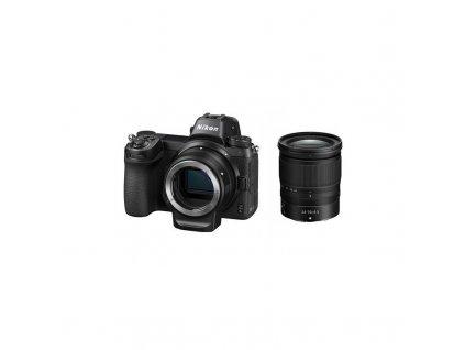 Digitální fotoaparát Nikon Z6 + 24-70 + adaptér bajonetu FTZ KIT (VOA020K003) černý  Vráceno ve 14ti denní lhůtě