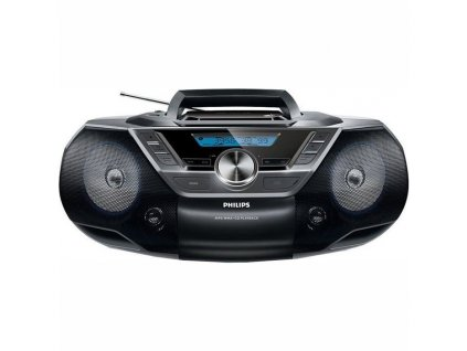 Radiopřijímač s CD Philips AZ780 černý  Vráceno-kosmetické oděrky