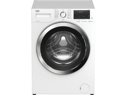 Pračka Beko WTE8636X0C bílá  nepoužito-pravá strana deformace plechu - kosmetické oděrka
