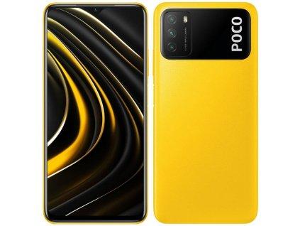 Mobilní telefon Poco M3 128 GB (30713) žlutý  Vráceno - drobný škrabanec