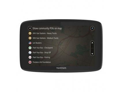 Navigační systém GPS Tomtom GO Professional 6200 EU, Lifetime černá  Vráceno-oděrky na displeji