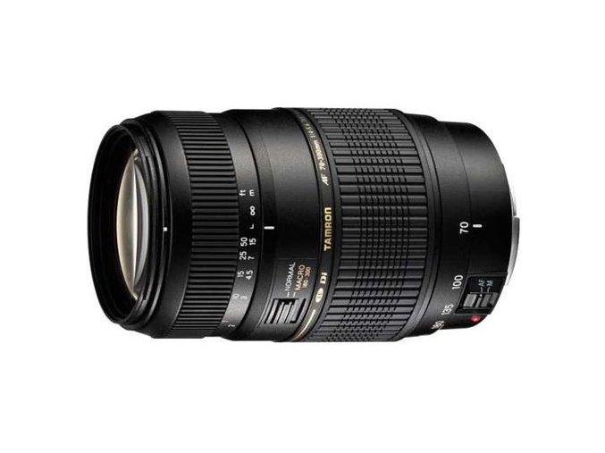 Objektiv Tamron AF 70-300 mm f/4.0 5.6 Di LD Macro 1:2 pro Nikon černý  tamaf70300nik
