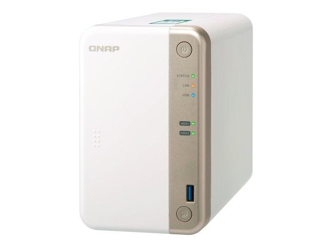 Datové uložiště (NAS) QNAP TS-251B 2G bílé  qnpts251b2g