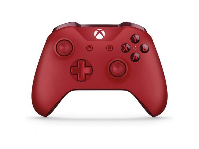 Gamepad Microsoft Xbox One Wireless červený  xbxwl300028