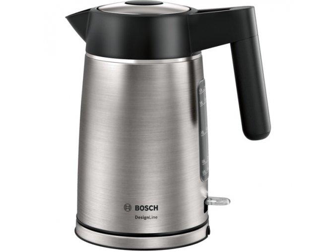 Rychlovarná konvice Bosch DesignLine TWK5P480 černá/nerez  bostwk5p480