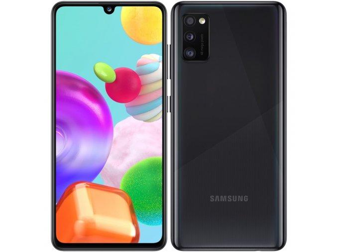 Mobilní telefon Samsung Galaxy A41 Dual SIM černý  samsma415fzkdeue
