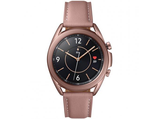 Chytré hodinky Samsung Galaxy Watch3 41mm bronzové  SAMSMR850NZDAEUE