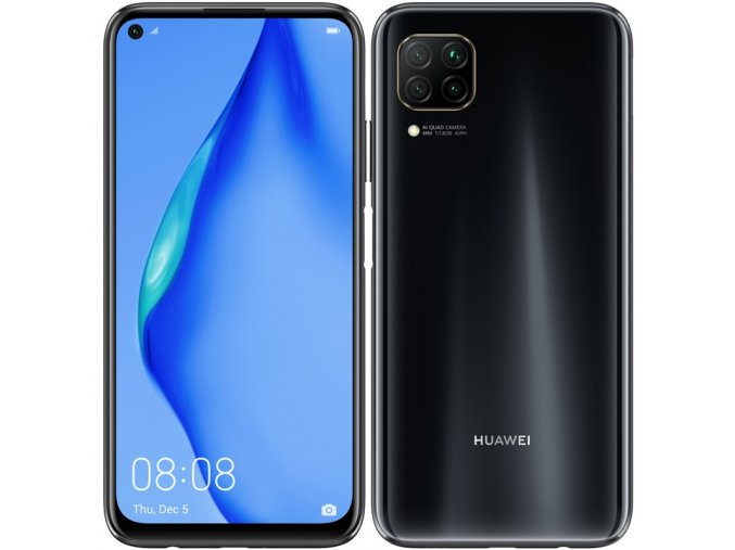 Mobilní telefon Huawei P40 lite (HMS) - Midnight Black  huaspp40l128dsbom