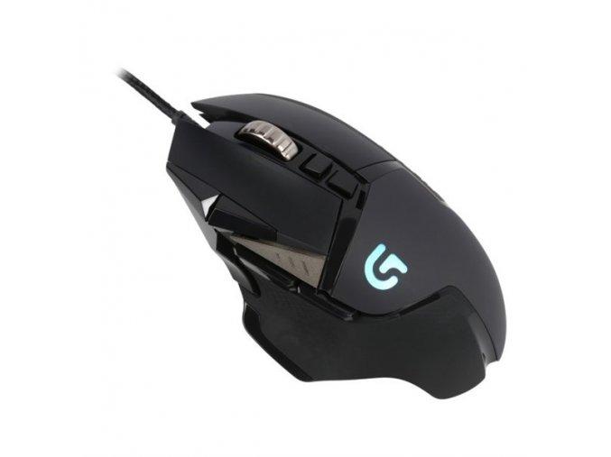 Myš Logitech Gaming G502 Proteus Spectrum černá (/ optická / 11 tlačítek / 12000dpi)