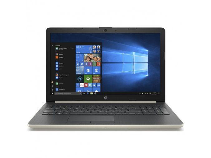 Notebook HP 15-db0040nc zlatý